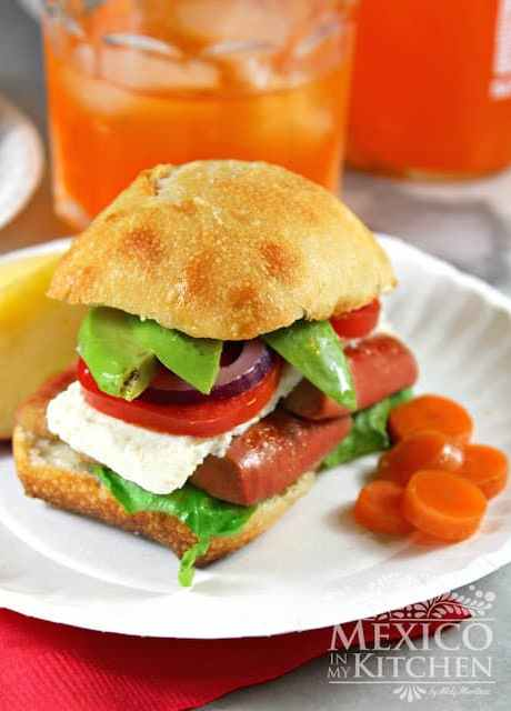 Mexican-hot-dog-torta-sandwich