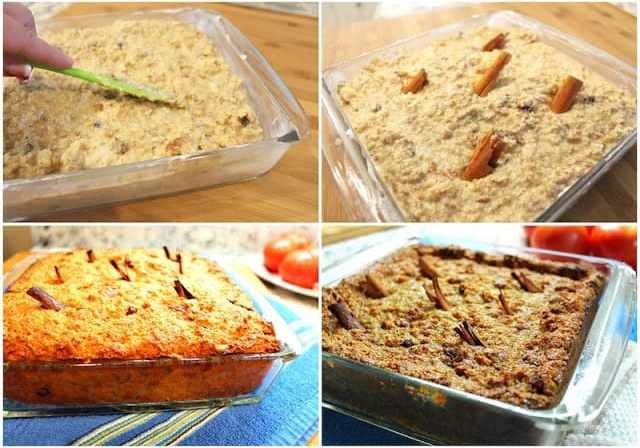 Mexican Bread pudding   -Budin de pan
