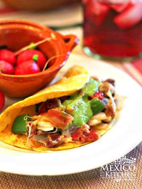 Tacos de alambre recipe