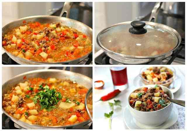 Picadillo recipe mexican preparation