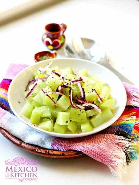 Chayote salad recipe