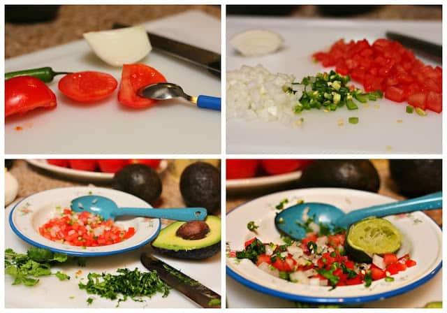 Chunky guacamole recipe