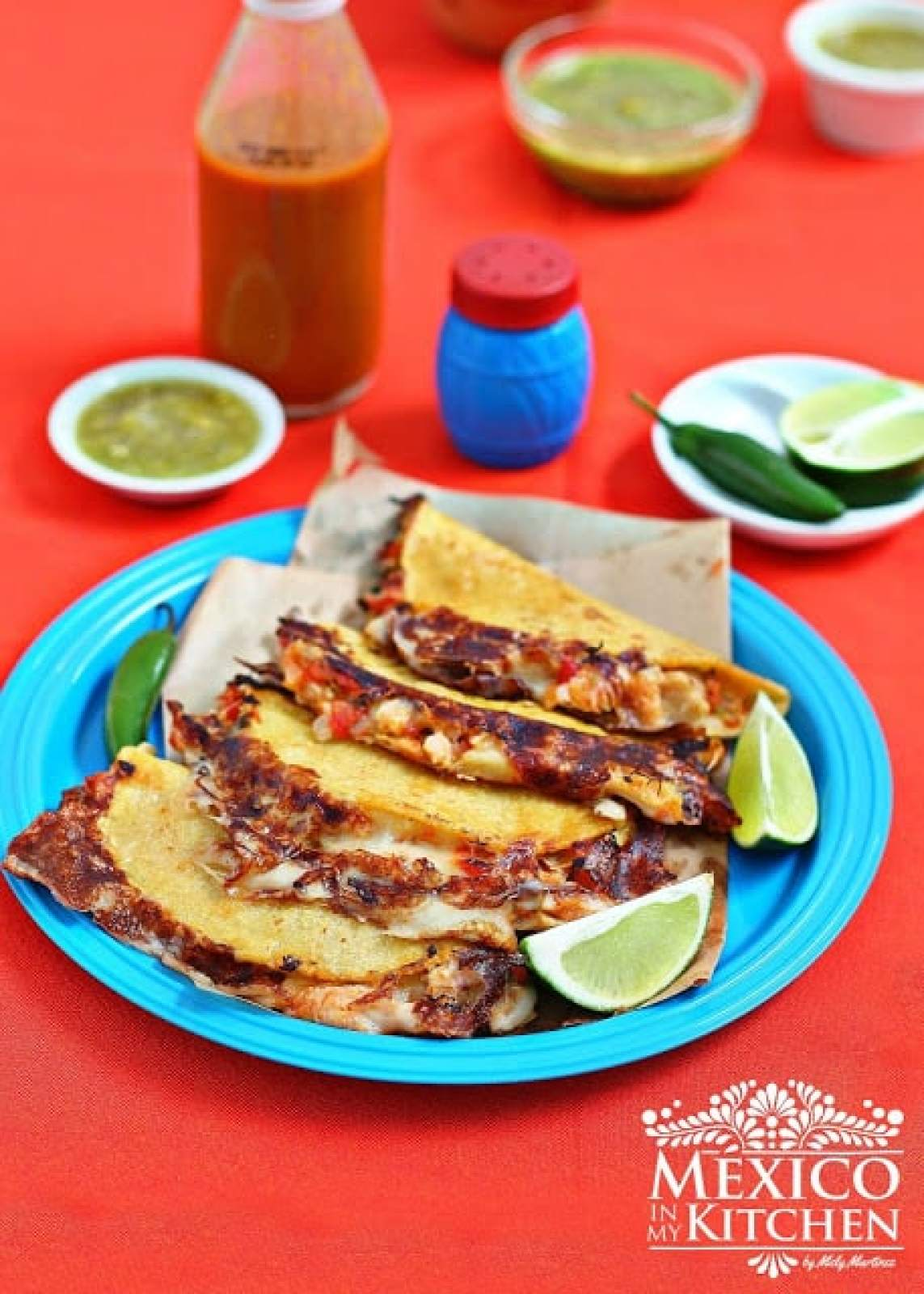 Tripe Quesadillas, another way to use beef tripe.