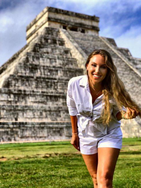Пирамиды Майя из Канкуна