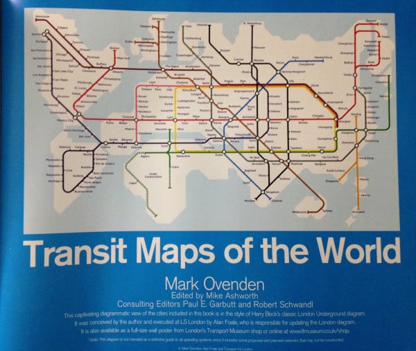 Transit Maps 2007 inside cover