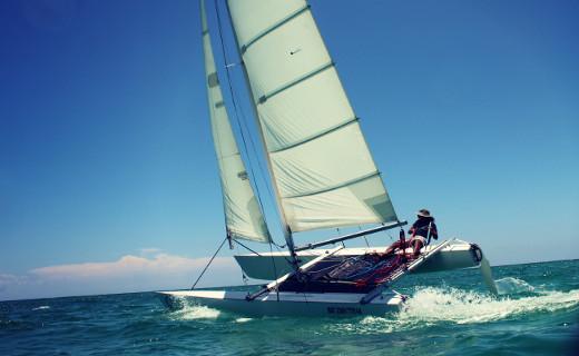 catamaran en Tulum