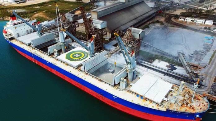 Puerto de Altamira en México registró un incremento de sus operaciones en medio de la crisis del coronavirus