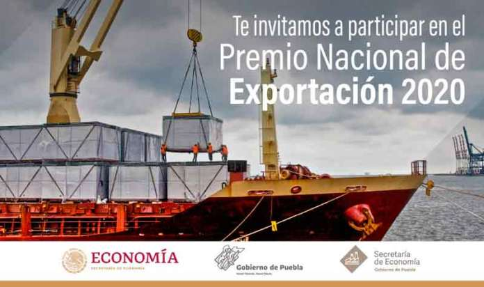 Puebla se suma al Premio Nacional de Exportación