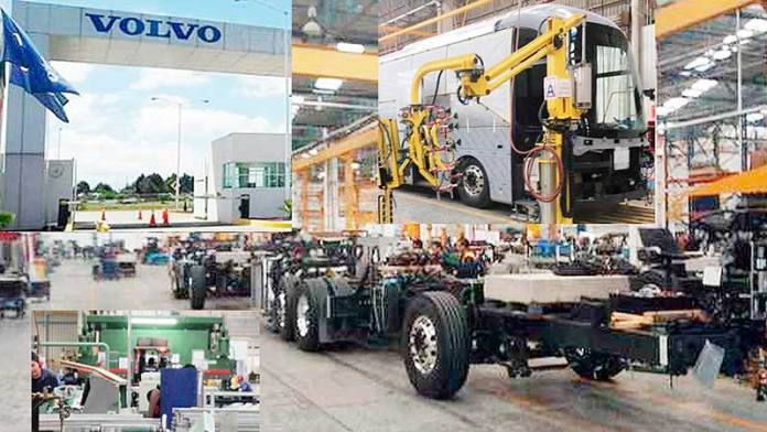 Se reactiva planta de Volvo Buses en Tultitlán, EdoMéx