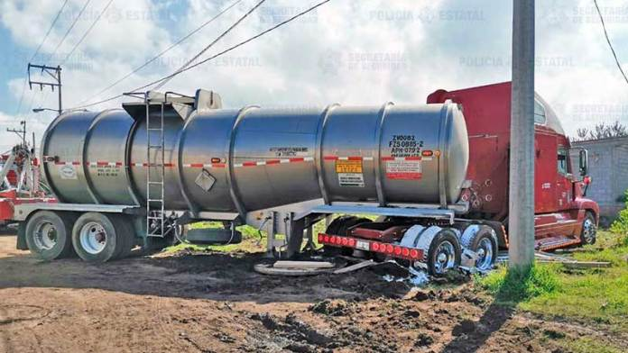Recuperan camión con carga valuada en un millón de pesos