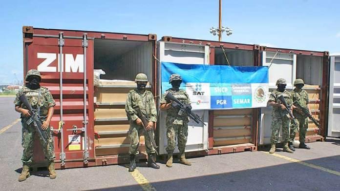 Para apoyo en el SAT, en aduanas y puertos envían a 2,203 soldados y marinos