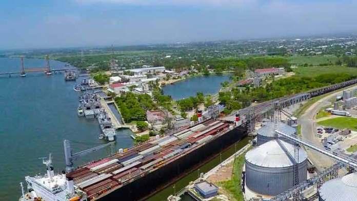 Avanzan los trabajos de infraestructura en puerto de Coatzacoalcos