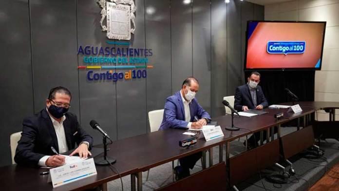 Firma Gobierno del Estado Convenio con FedEx en México Para Impulsar a MiPyMEs de Aguascalientes