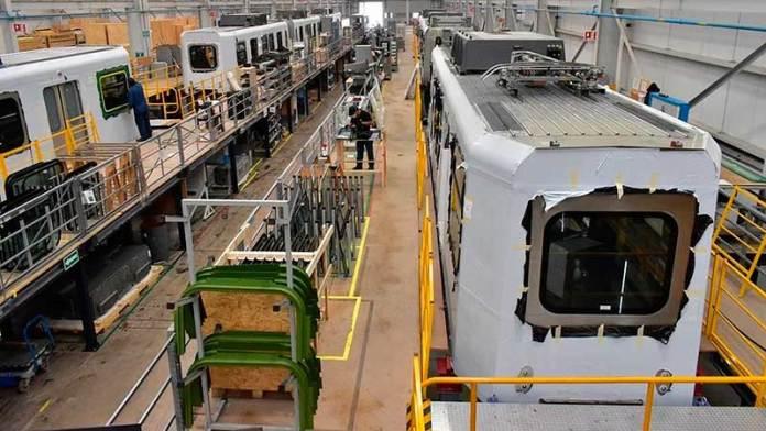 México suma trenes a exportaciones de manufactura