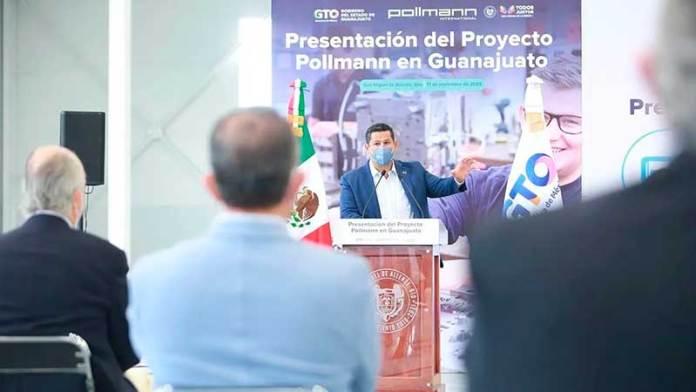 Pollmann llega a Guanajuato con una inversión inicial de 4.45 millones de dólares