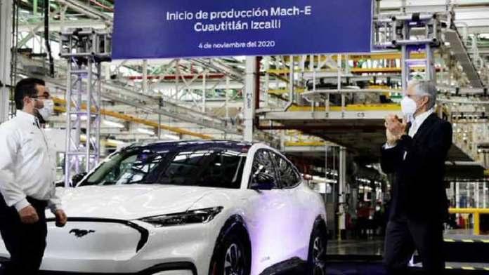 Ford arranca producción de su primera SUV eléctrica en México