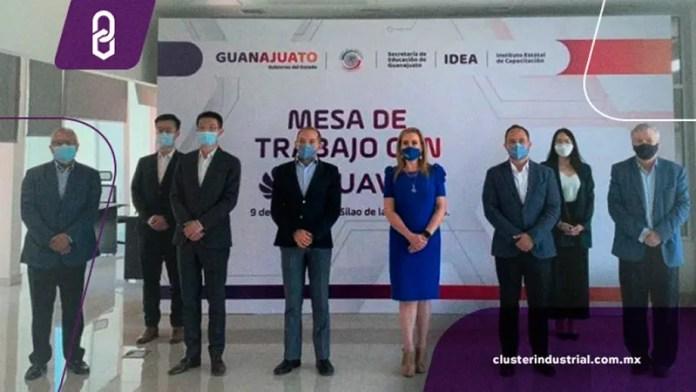 Guanajuato y Huawei Technologies de México fortalecerán sector educativo
