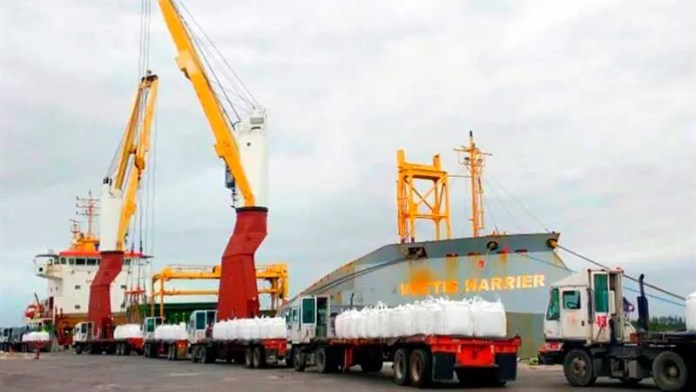 Carreteras marítimas del Golfo de México no han generado movilización importante de bienes el último año