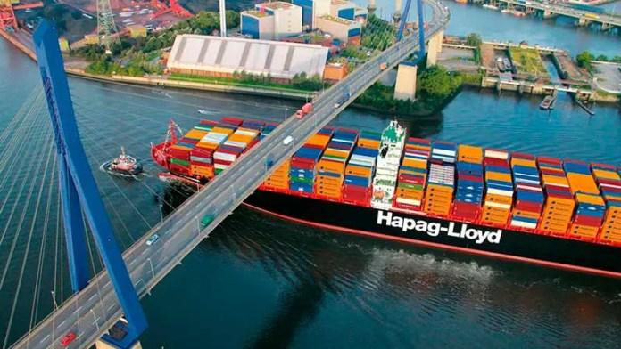 Combate Hapag-Lloyd la escasez de contenedores en el transporte marítimo