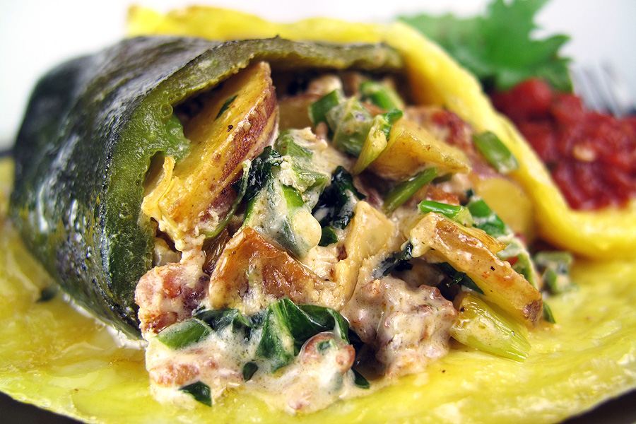 Chile Relleno Omelet Mexipes