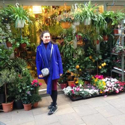 the flower shop, Gracia, Barcelona