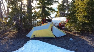 Our camping location for the night.