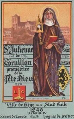 Heilighangertje: 600 jaar Juliana van Cornillon 1846 ...