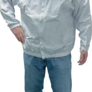 economy jacket with round veil & hat