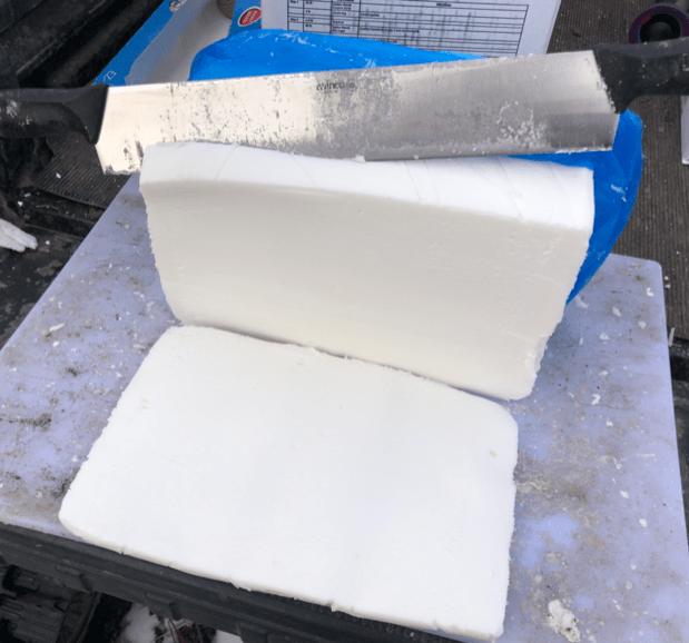fondant cube