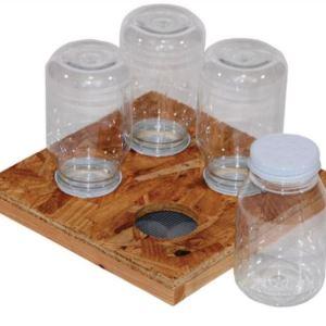 quad hive top jar feeder