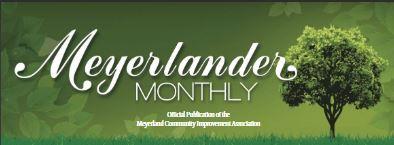 Meyerlander monthly newsletter