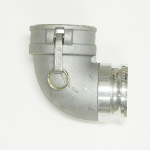 "4"" Cam Lock x 4"" Male 90 Degree"