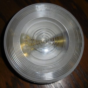 "4"" Sealed Clear Back Up Lamp"
