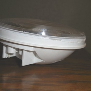 """4"""" Sealed Clear Back Up Lamp"""