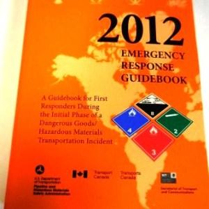 2012 Emergency Response Guideline Book