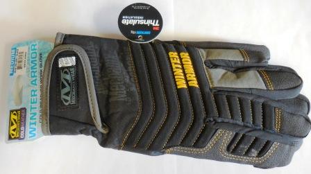 Medium Winter Armor Impact Mechanix Glove