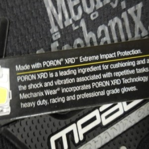 Mechanix Impact Glove XL Black/Gray