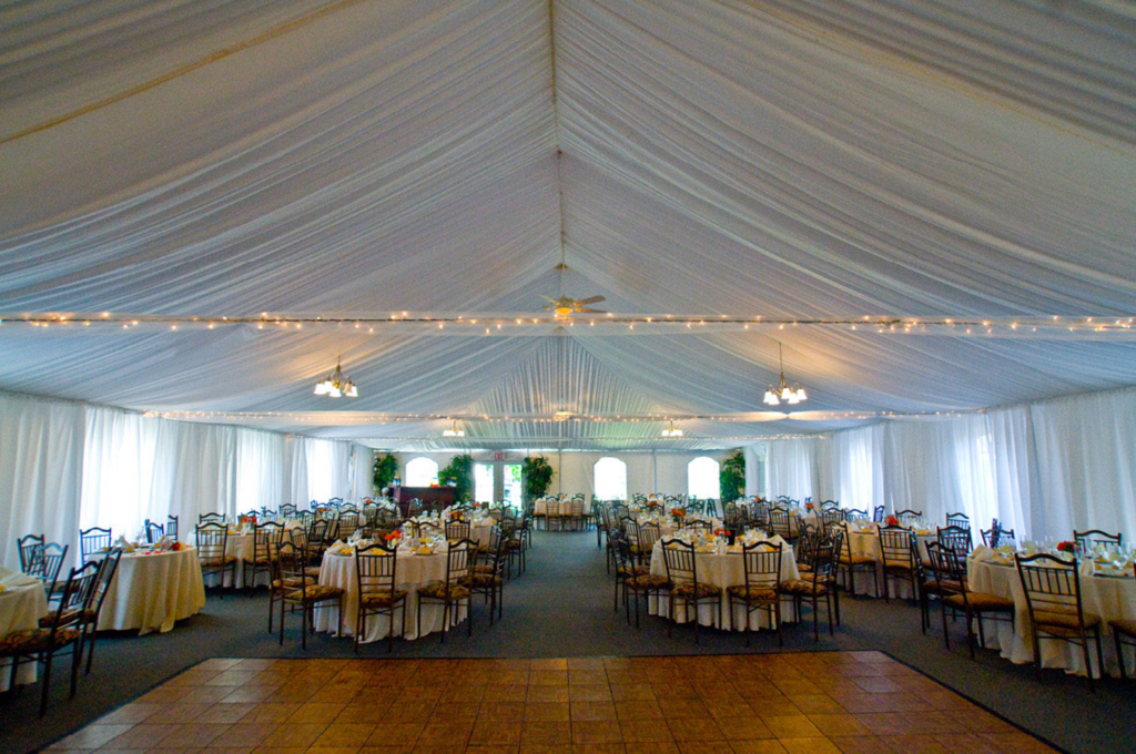 oakside Top 10 Affordable NJ Tent and Outdoor Wedding Venues