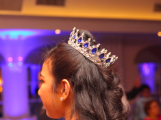 crown in hair