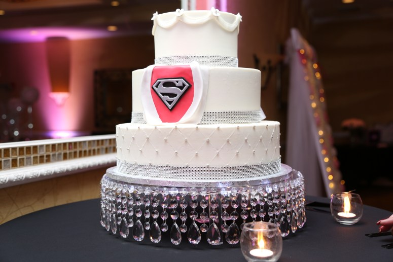 superman wedding cake superhero