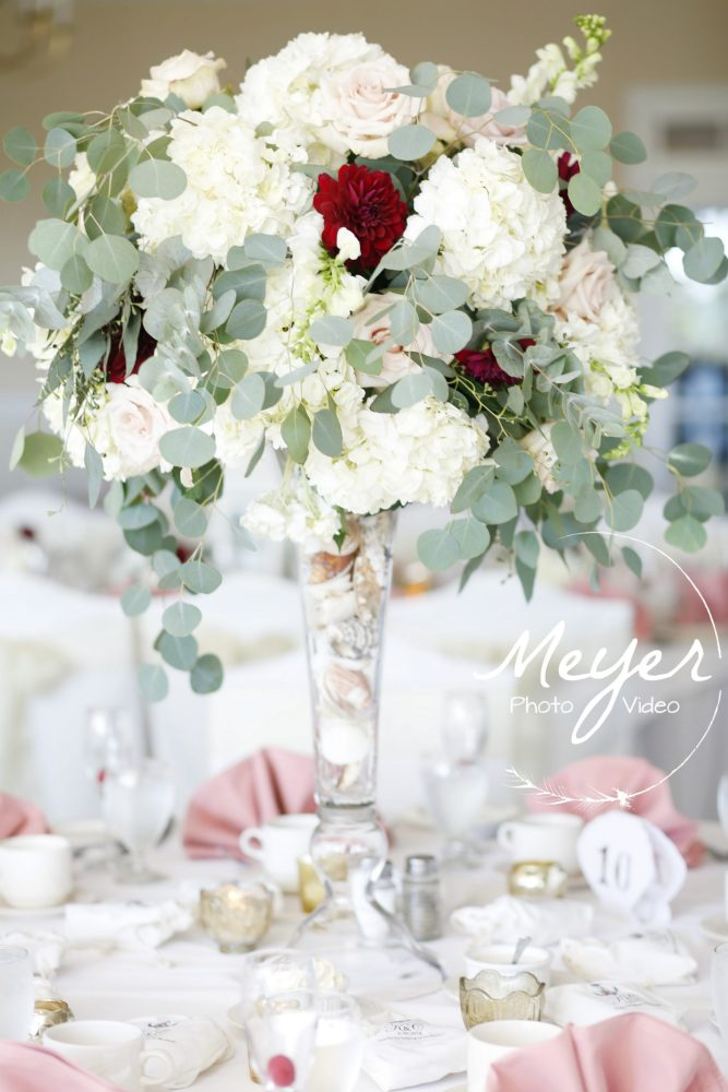 wedding flowers at sea oaks country club