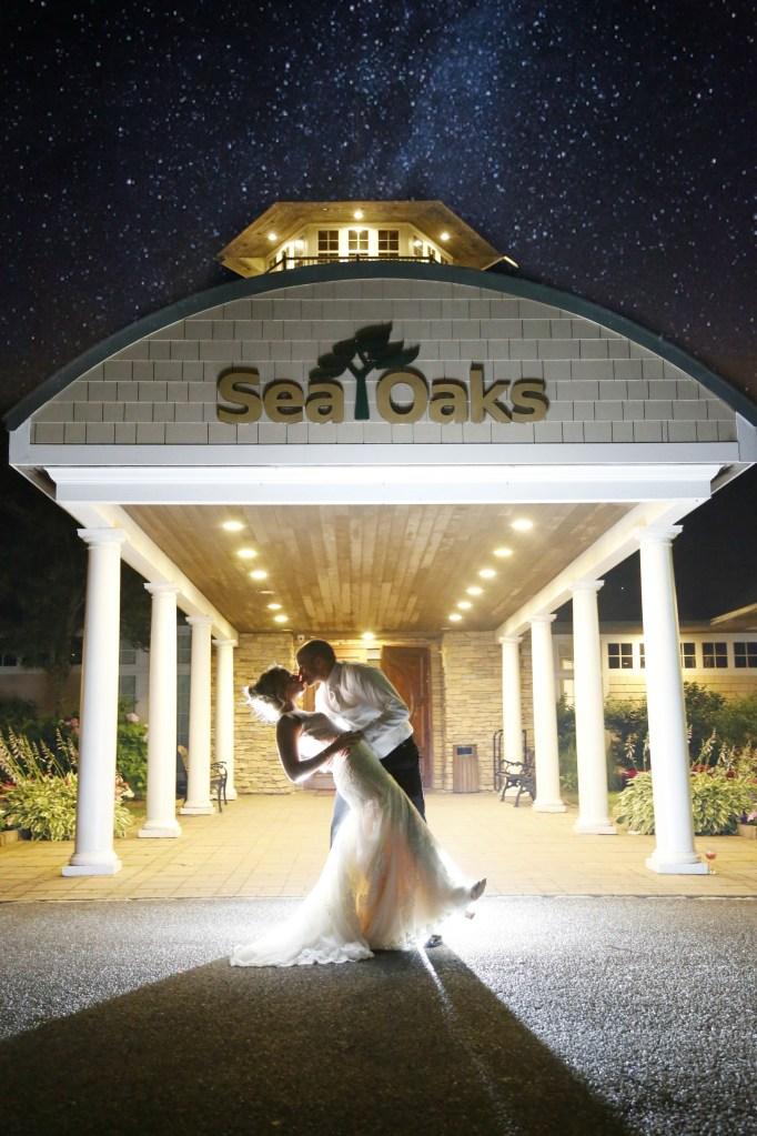 sea oaks country club wedding
