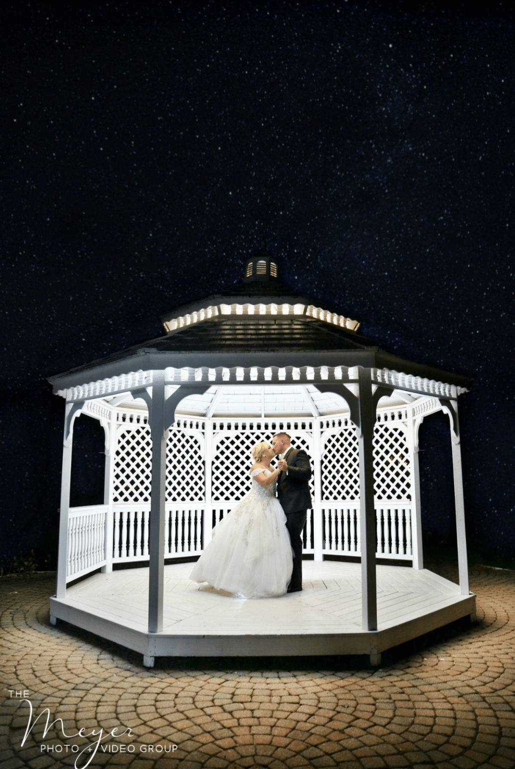 night wedding photo NJ Wedding Photographers