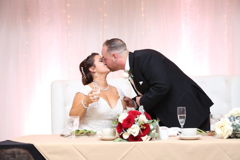 speeches and kissing