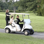 using a golf cart for transportation