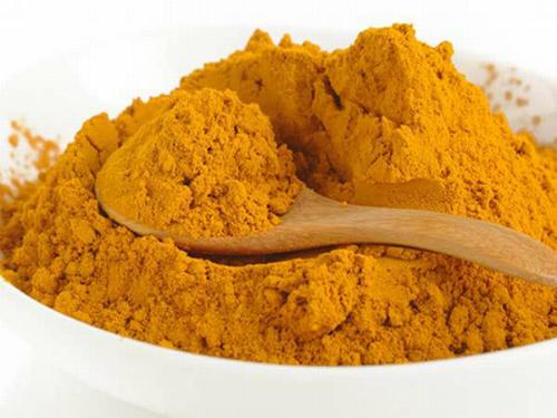 Bột nghệ được sử dụng chủ yếu để làm gia vị trong chế biến món ăn.