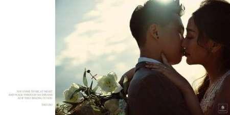 Họ đã có một đám cưới ngọt ngào khi tình yêu đủ lớn