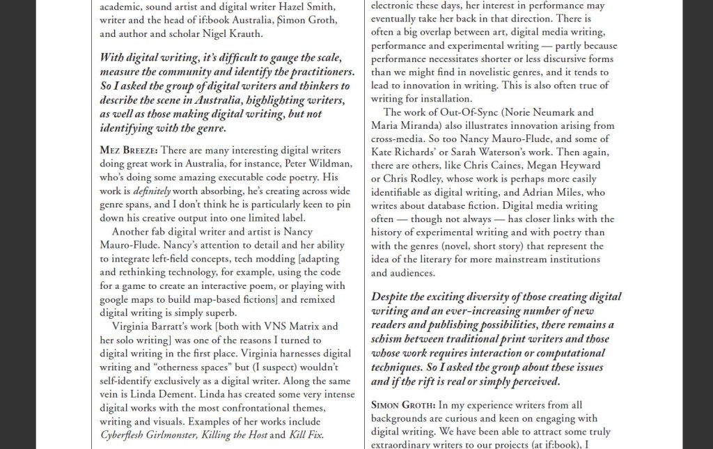 Digital Writing Is Now, Not New Excerpt 1