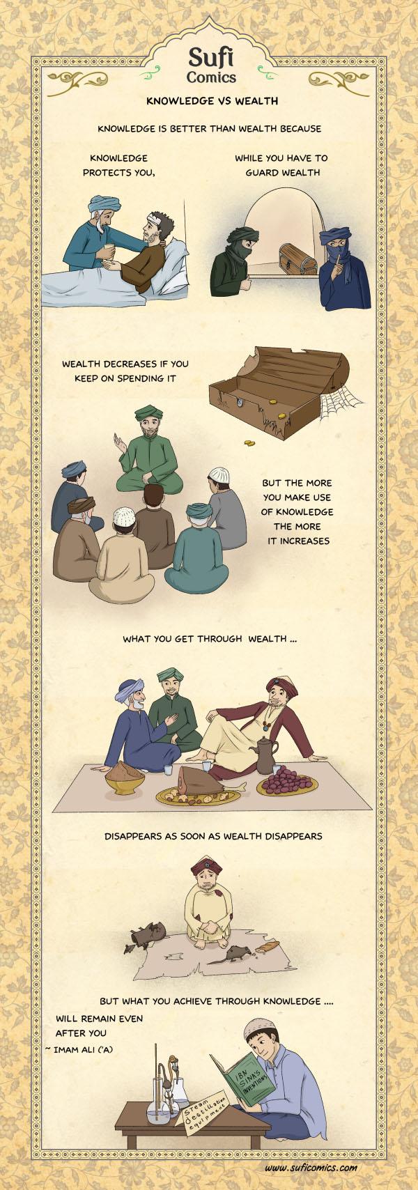 sufi-comics-knowledge-vs-wealth