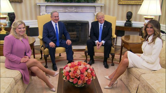Benjamin-Netanyahu-donald-trump-wives.jpg